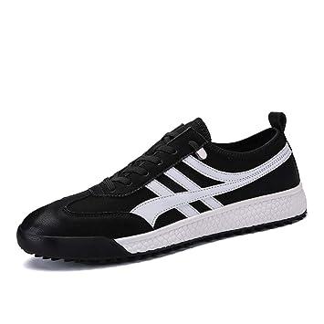 HDWY Zapatillas De Deporte De Los Hombres Zapatos De Viento Deportes Hombres Respirables De Los Hombres Zapatos Casuales Zapatos De Baja Ayuda De Encaje ...