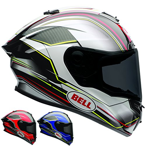 Race Helmet Small (Bell Race Star Full Face Motorcycle Helmet (Triton Blue/Yellow, X-Small) (Non-Current Graphic))