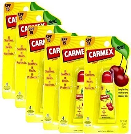 Carmex Lip Balm Tube Cherry 10gm-PACK OF 6 by Carmex: Amazon.es: Belleza