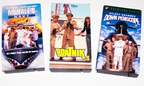 Classic Comedy Video Collection: Mchale's Navy; Boatniks; Down Periscope (3 Pk)