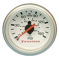 Firestone Ride-Rite 9181 Pressure Gauge Single White Replacement For PN[2225/2229/2196] Pressure Gauge