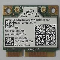 Intel 2200 IBM Lenovo Thinkpad t430 w530 t530 x230t wireless network mini pcie half card fru : 60y3295