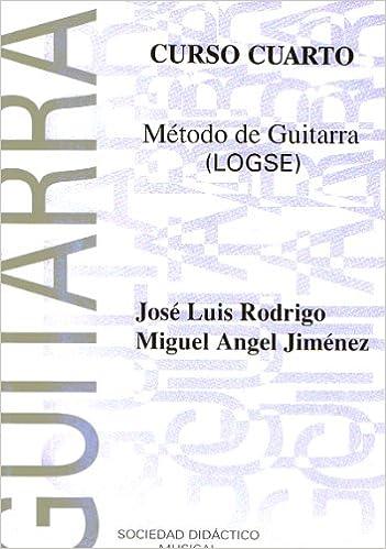 RODRIGO y JIMENEZ - Metodo 4º para Guitarra (SDM): Amazon.es ...