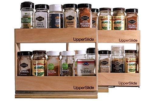 - Upperslide Cabinet Caddies Pull Out Spice Rack Starter/Expansion Pack #1 (US 303SEP1) FREE SHIPPING