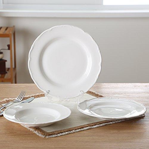ite Porcelain/Ceramic Place Setting,Dinner Plate,Serving Plate,Soup/Salad/Dessert/Bread&Butter Plate (3 Soup Plate)