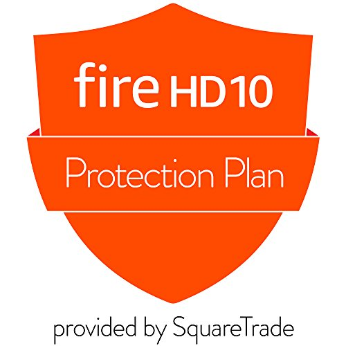 3-Year Accident Protection for Fire HD 10 Tablet (2017 release) (Best Tablet Extended Warranty)