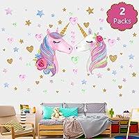 Unicorn Wall Decal, Unicorn Wall Sticker Decor