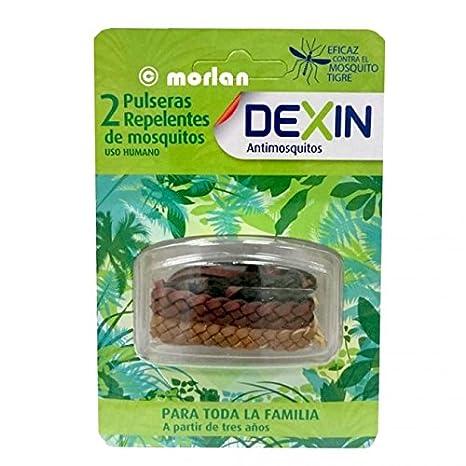 DEXIN Pulsera Repelente de Mosquitos 2 Unidades: Amazon.es: Salud y cuidado personal