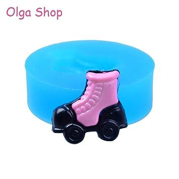 Star-Trade-Inc - Molde de silicona flexible para patines de 16,9