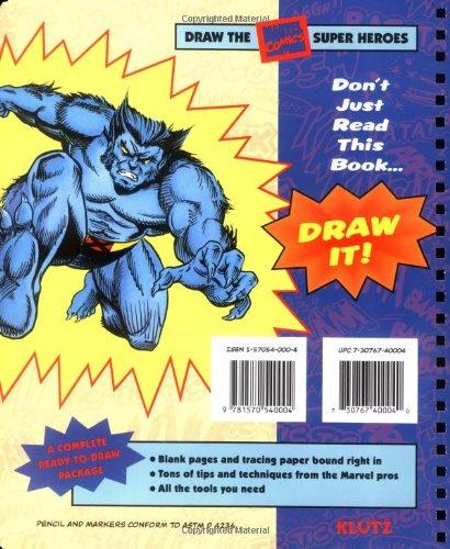Draw the Marvel Comics Super Heroes (Drawing Tools)