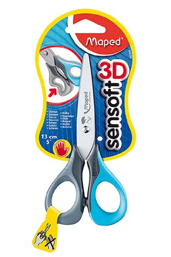 5In Sensoft Scissors Left Handed -- Case of 12