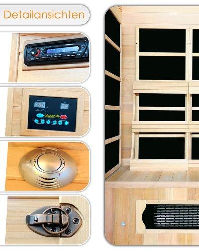 infrarotkabine vergleich 2017 infos der beliebtesten hersteller. Black Bedroom Furniture Sets. Home Design Ideas