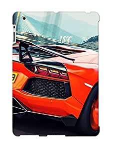 Cute Appearance Cover/tpu JVAxHOi2278iFWAY Speeding Aventador Case For Ipad 2/3/4