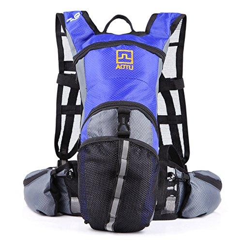 missofsweet Hydration Rucksack Radfahren Blase Tasche Wandern Klettern Beutel (2.5L Trinkblase enthalten)