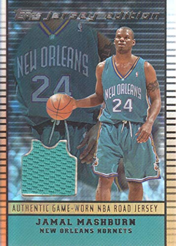 2002-03 Topps Jersey Edition Copper #JEJM Jamal Mashburn Road Jersey /299 ()