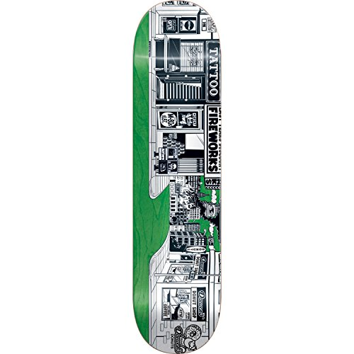 Almost Skateboards Daewon Song Stick-O-Rama Resin-7 Skateboard Deck - 8.37' x 31.8'