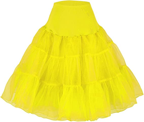 XYX Petticoat Hoopless miriñaque Enaguas tutú Rockabilly 50s Swing ...