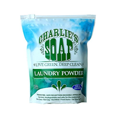 Charlie's Soap - Fragrance Free Laundry Powder - 100 Loads (1 Pack)