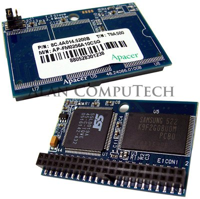 Apacer - HP 256MB Flash Kit For Thin Client NEW AP-FM0256A10C5G AP-FM256G-MM002-A ()