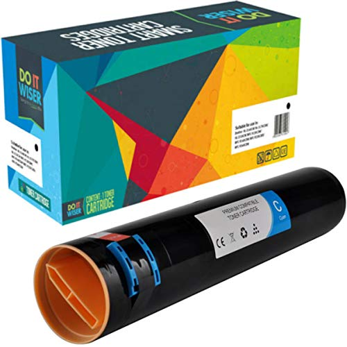 Do it Wiser Compatible Toner Cartridge Replacement for Xerox Phaser 7760 7760N 7760DN 7760DX 7760GX   106R01162 (Cyan)