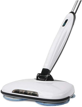 Aspirador vertical, aspiradora de brazo inalámbrico, ajuste de engranaje de baja / alta velocidad, rociador de agua automático limpie el piso, fregadora de piso fregadora, fregona rotatoria eléctrica: Amazon.es: Hogar