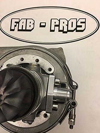 Amazon.com: Oil RETURN Fitting Flange for Borg Warner Turbo EFR Turbos 6258 6758, 7163 -> -10 AN: Automotive