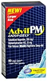 Advil PM Ibuprofen 200 mg Liqui-Gels 80 ea (Pack of 9)