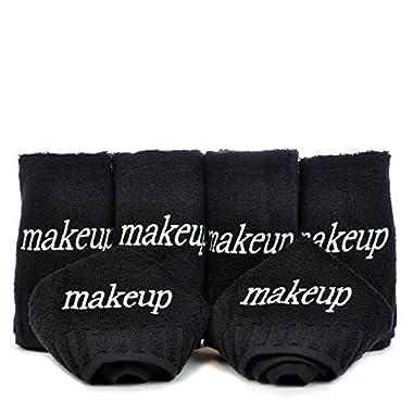 Luxury Black Cloth 100% Genuine Turkish Cotton Make up Cleansing
