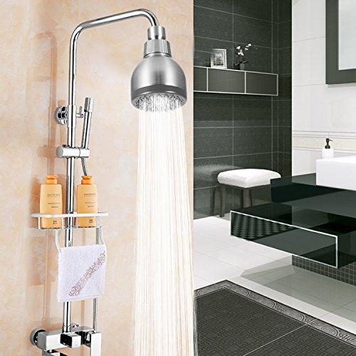 Bathwa Shower Head 3 Inch High Pressure High Flow Fixed