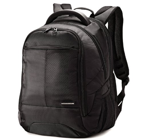 Samsonite Classic PFT Backpack Checkpoint Friendly, Black, One Size (Checkpoint Luggage)