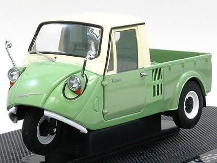 Amazon Com Mazda K360 3 Wheeler In Green 1 43 Scale Diecast Model