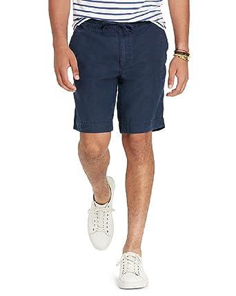 Polo Ralph Lauren Men\u0027s Classic Fit Linen Shorts, Aviator Navy (Small)