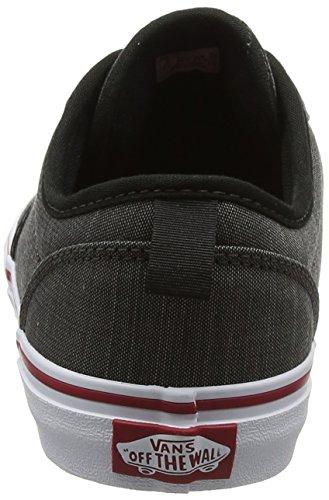 Vans Unisex-Kinder Atwood Slip-On Laufschuhe Grau (Textile)