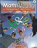 Math 4 Today Grade 4-5, Donna Pearson and Carson-Dellosa Publishing Staff, 156417980X