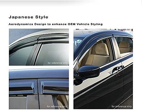 Wind Guard Visor 4pcs For Toyota Corolla 03 04 05 06 07 08 2003-2008 4DR CE S LE