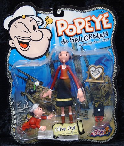 Popeye the Sailorman Olive Oyl Action -