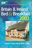 AAA Britain and Ireland Bed and Breakfast Guide 2003, AAA Staff, 1562518380