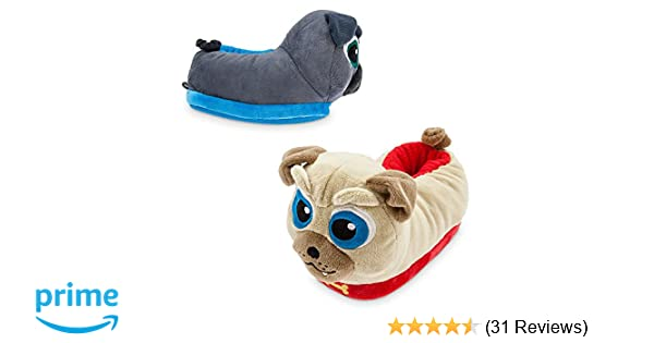 Amazon.com | Disney Bingo and Rolly Slippers for Kids - Puppy Dog Pals | Slippers