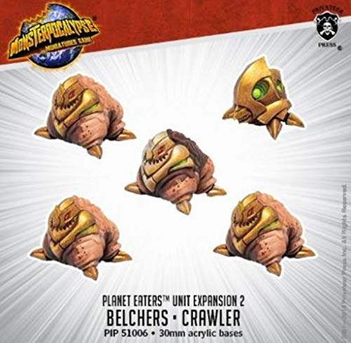 Monsterpocalypse: Planet Eaters Unit – Belchers & Crawler (Resin)
