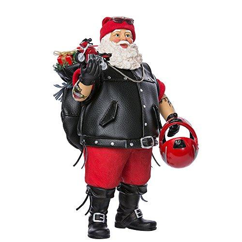 Biker Santa - Kurt Adler 11