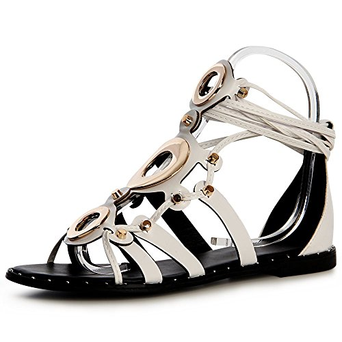 Blanc Topschuhe24 Sandalettes Sandales Sandalettes Topschuhe24 Sandales Sandalettes Femmes Topschuhe24 Sandales Femmes Blanc Femmes 8wPnwE