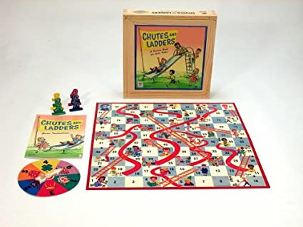 amazon com chutes ladders nostalgia toys games