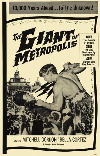 The Giant Póster de película de metrópolis 11 x 17 EN - 28 ...