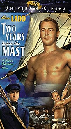 Amazon.com: Two Years Before the Mast [VHS]: Alan Ladd, Brian ...