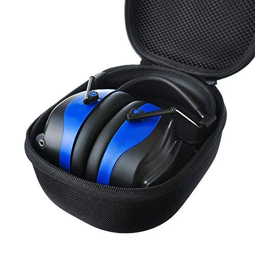 PROTEAR AM FM Headphones Bluetooth Rechargeable NRR 25dB Noise Reduction Safety Earmuffs for Lawn Mowing Ourside Work,with a Carrying Case by PROTEAR (Image #7)