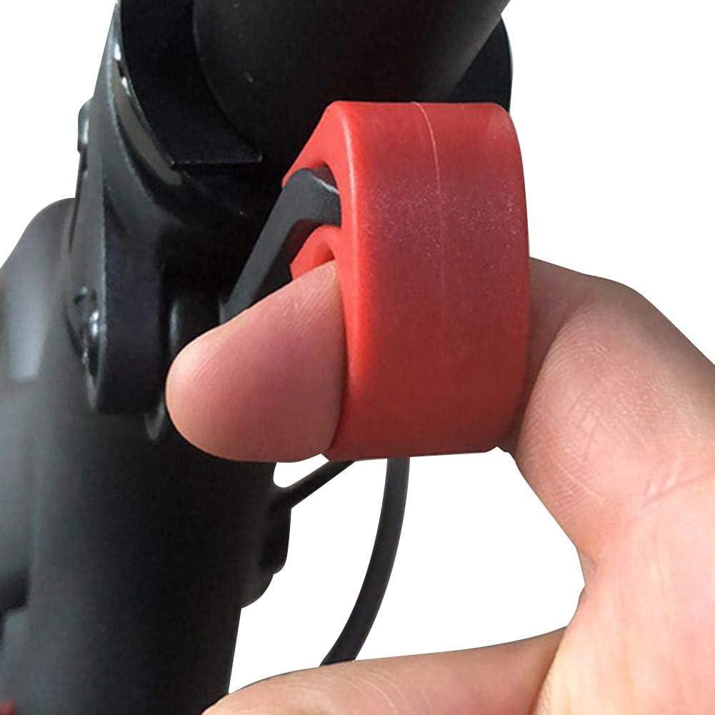 Dreameryoly Sujetadores De Llave Cierre De Hebilla Protección Material ABS Plegable Fácil De Usar Resistente A Los Impactos Y Durable para Los Accesorios para Scooter Xiaomi M365