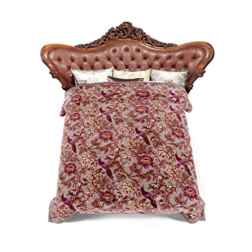 JML Heavy Warm Blanket, Plush Blankets Queen Size 76