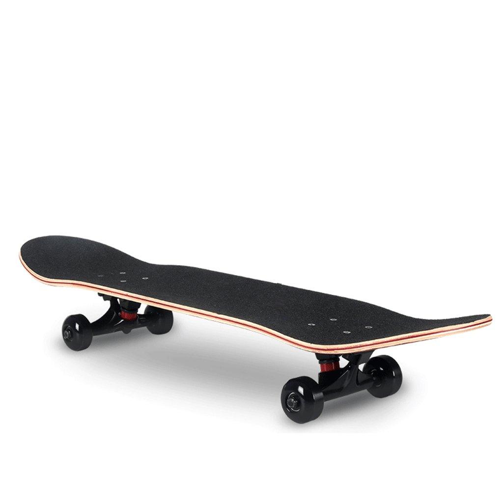 YONGLIANG 屋外用品7層メイプル4輪スケートボード入門初心者アダルトスクーターブラシストリートダブルアップスクーター (色 : (色 青) : B07BRH1M6S 青) Brown Brown, ギフトプラザ フレンド:551325ad --- integralved.hu