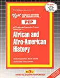 African and Afro-American History, Rudman, Jack, 083735501X