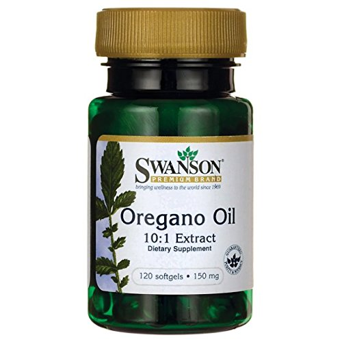 Swanson Oregano Oil 10 Milligrams product image